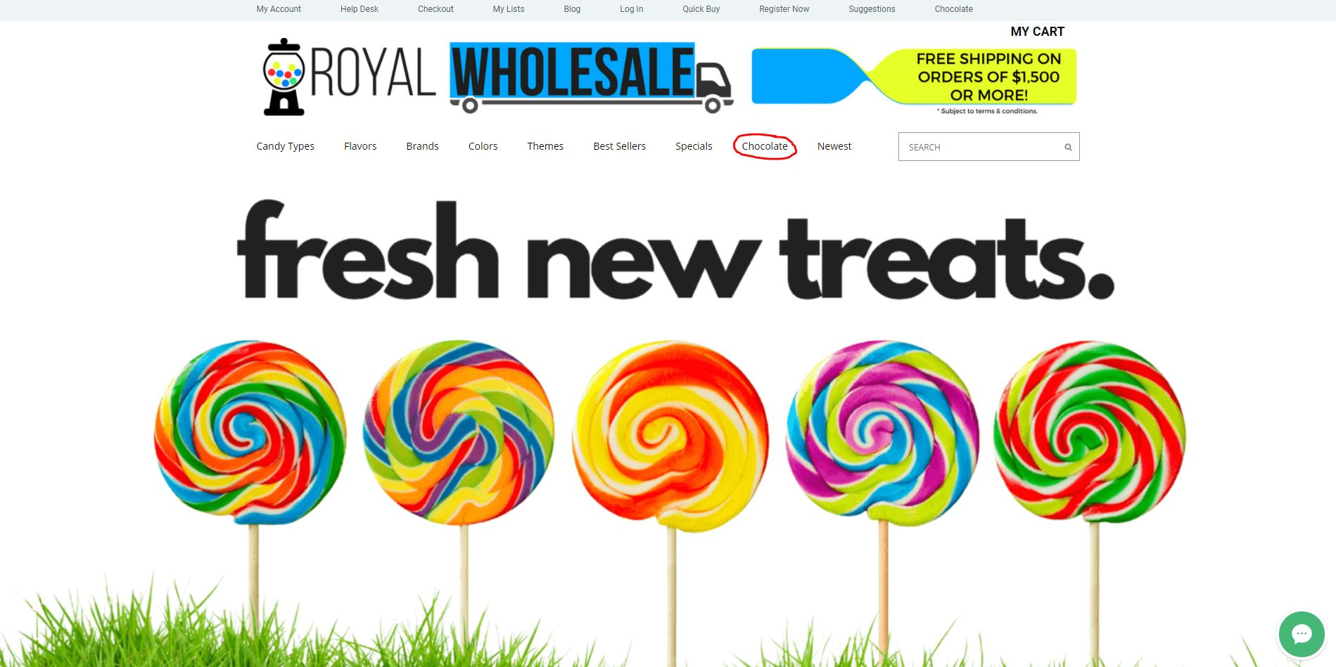 Royal Wholesale Candy Chocolate Link
