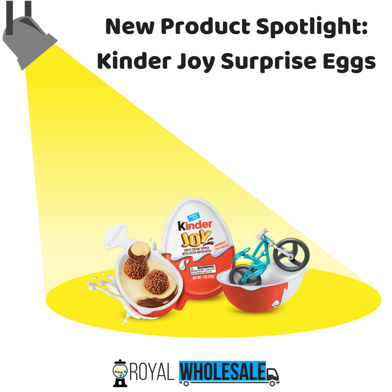 New Product Spotlight: Kinder Joy Surprise Eggs