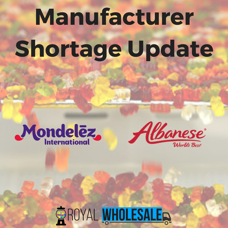 Manufacturer Shortage Update