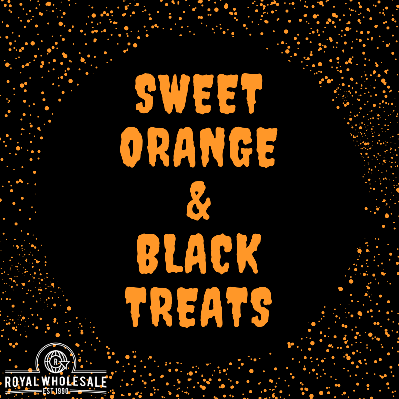 Sweet Orange & Black Treats