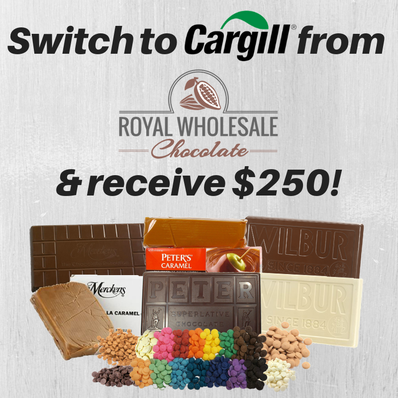 Switch To Cargill Chocolate To Earn $250