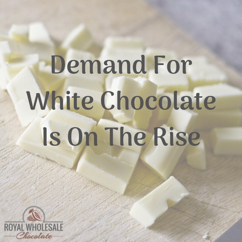 Demand For White Chocolate Is On The Rise