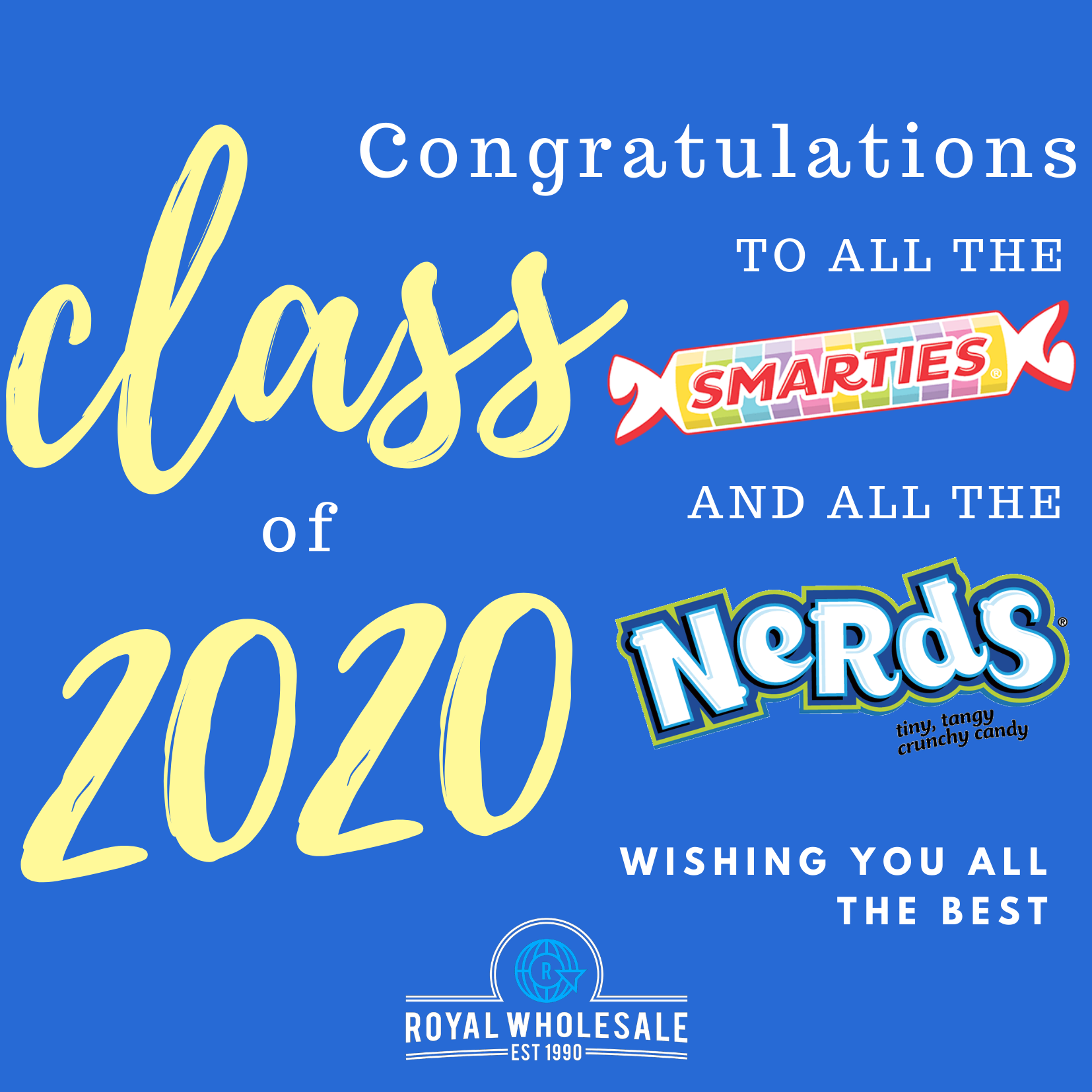 Graduation Candy Ideas and Virtual End of Year Activities